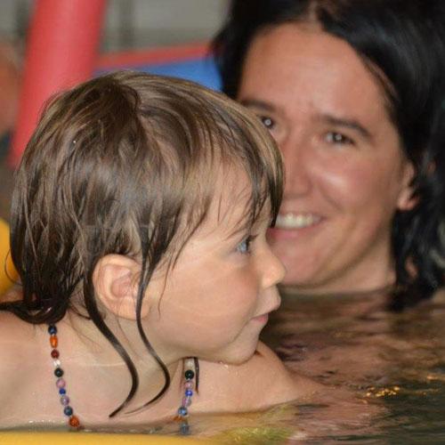 Eltern-Kind Schwimmen, Schwimmschule Rätia